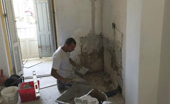Guillaume Batiment, le specialiste du ravalement et la renovation à Antibes.(06)